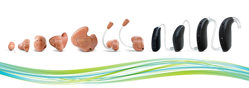 Hearing Aid Styles - Shreveport, LA - The ENT Center, AMC