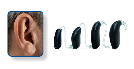 Standard Behind the Ear - BTE - Hearing Aid Style - Shreveport, LA - The ENT Center, AMC