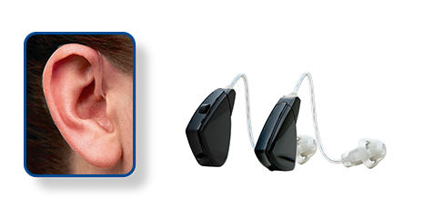 Receiver in the ear - RITE - Hearing Aid Style - Shreveport, LA - The ENT Center, AMC